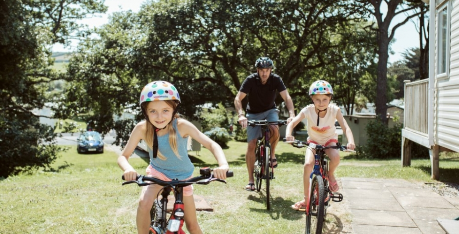 Active vacations with kids