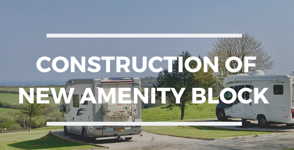 Construction of new amenity block