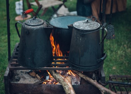 Camp stove winter warmer recipes
