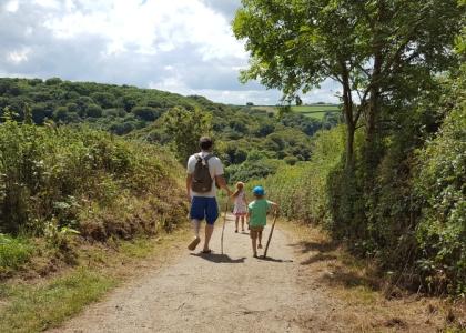 Walking Heligan to Mevagissey