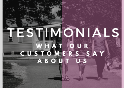 Read what our customers say about us…